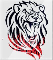 лев трайбл тату львы 1 в тату эскизах рисуем на заказ фото тату