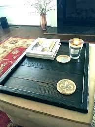 extra large round ottoman tray wooden ottoman tray image 0 large extra large black ottoman tray