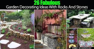 decorative garden stepping stones how to use landscape rocks and stones in the garden decorative garden