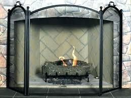 large fireplace screen screens express extra custom spark guard fireplac