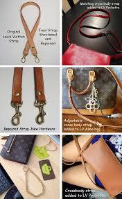 louis vuitton 16mm strap. custom replacement straps \u0026 handles for louis vuitton (lv) handbags/purses/bags | purses handbags - leather, chain, nylon, canvas mautto 16mm strap