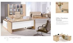 combined office interiors desk. China Modern Combined Office Desk With Movable Cabinet - Furniture, Interiors L