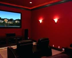 dark media room. Dark Red Color Paint Room Media Colors Bedroom R