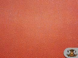 vinyl basketball 56 wide orange fake leather upholstery image 0