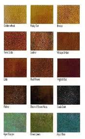 Kemiko Color Chart Kemiko Acid Stain Colors Surtirmayorista Co