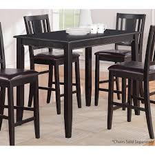 black wood rectangular dining table. Parawood Furniture Buckland 30\ Black Wood Rectangular Dining Table B
