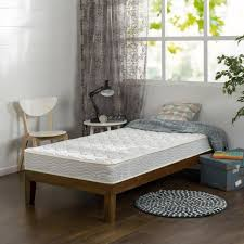 bunk bed mattress sizes. Slumber 1 6 Comfort Bunk Bed Spring Mattress Twin Full Size With Regard To Sizes