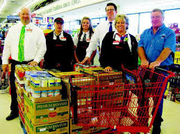 Holiday Shares Donation Benefits Local Food Bank - Oakdale Leader