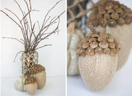 Ruff Draft: Burlap Acorns for the Fall