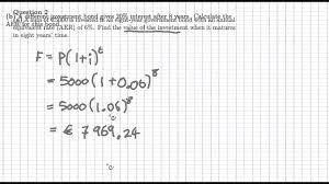 s maths ol paper question financial maths 2013 s maths ol paper 1 question 2 financial maths