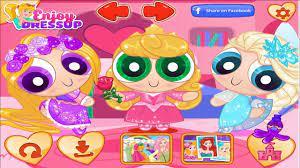 Game công chúa Disney hóa thân thành 3 cô gái siêu nhân