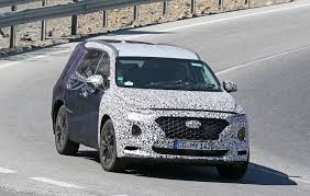 2018 hyundai hybrid suv. fine suv ex bmw m engineer albert biermann is helping tune the 2018 hyundai  santa feu0027s handling intended hyundai hybrid suv