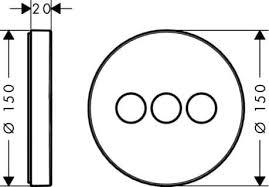 <b>Запорный вентиль Hansgrohe</b> ShowerSelect <b>S</b> 15745000 для 3 ...