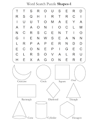 Word Search Puzzle Shapes 1 | Download Free Word Search Puzzle ...