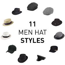 11 Types Of Hats For Men