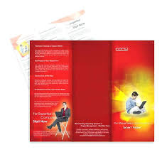 Brochure Samples Editable Course Brochure Template Training Examples Free Samples