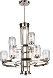 brushed nickel chandelier lighting modern brushed nickel chandelier lighting loading zoom progress lighting alexa 5 light