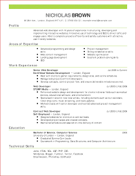 Lovely An Example On How To Write A Cv Resume For A Job