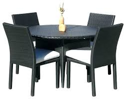 round outdoor dining table set 5 piece outdoor dining set outdoor wicker new resin 5 piece round outdoor dining table set