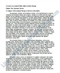 Sample of a literature review paper Lincoln University
