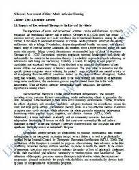Sample literature review paper