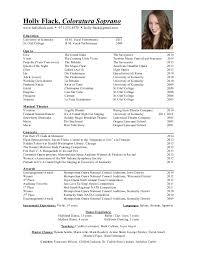 ... Picturesque Design Performance Resume 2 Holly Flack Performance Resume  ...