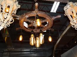 antique ship wheel hanging light denver furniture