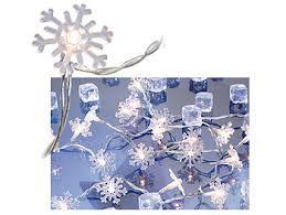 Lunartec Lichterkette Fenster Motiv Lichterkette Snow 20