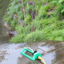 garden sprinkler spike lawn grass vegetable cooling nozzle automatic swing water sprayer for garden irrigation system