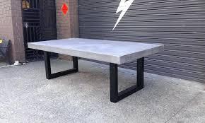 concrete table outdoor concrete table in modern home interior design with outdoor concrete table round concrete