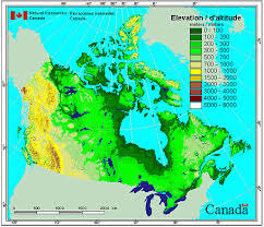 Elevation Chart Us Data Sources And Methods For Daily Canadian Forest Fire