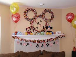 disney mickey mouse birthday party