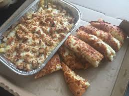 Chicken Alfredo And Cheese Breadsticks Yelp