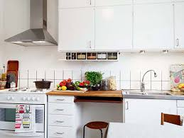 For Small Kitchens In Apartments Small Kitchen Design Ideas White Polished Wooden Kitchen U2026