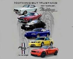 Details About Ford Mustang T Shirt Nothing But Mustang Multi Generations M Xl 24 99 2xl New