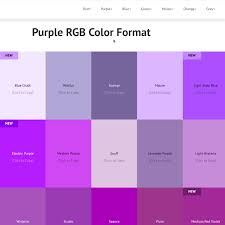Rgba Color Chart Pin On