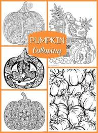 Small Picture Free Printable Harvest Pumpkin Coloring Page for Fall Adult