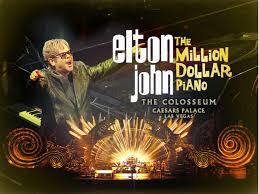 Elton John Million Dollar Piano Seating Chart Elton John Adds 2015 2016 Tour Dates With Las Vegas