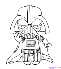 Small Picture Baby Darth Vader Coloring Pages Coloring Pages