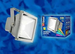 <b>ULF</b>-<b>S01</b>-<b>20W</b>/<b>DW</b> IP65 110-240В картон светодиодный ...
