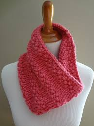 Free Easy Knitting Patterns Beauteous Fiber Flux Free Knitting PatternBubblegum Cowl