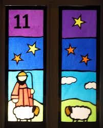 Adventsfenster Adventsfenster Weihnacht Fenster Und