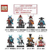 Lego Minifigures Ninjago Season 11 - Nhân vật Ninjago Mùa 11 năm 2019  Blizzard Warriors Archer Swordman Vex Char Akita