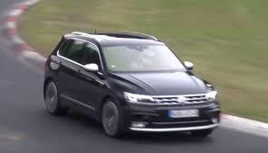 2018 volkswagen r. modren volkswagen 2018 volkswagen tiguan r spied for the first time at nurburgring inside volkswagen r u