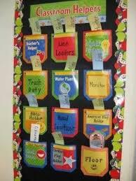 Classroom Job Chart Preschool Items Juxtapost