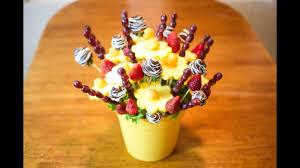 How to make Edible <b>Fruit</b> Bouquet Arrangements! - YouTube