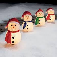 trim a home 4 ct cute snowman christmas pathways shop your
