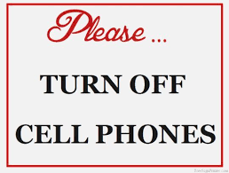 No Cell Phone Sign Printable Turn Off Cell Phone Sign Headline Sign 4759 Century Series