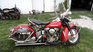 1948 harley panhead original paint one owner motorcycle fires up