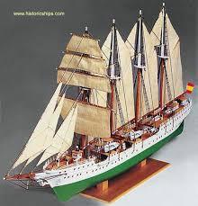j s elcano wooden ship model kit